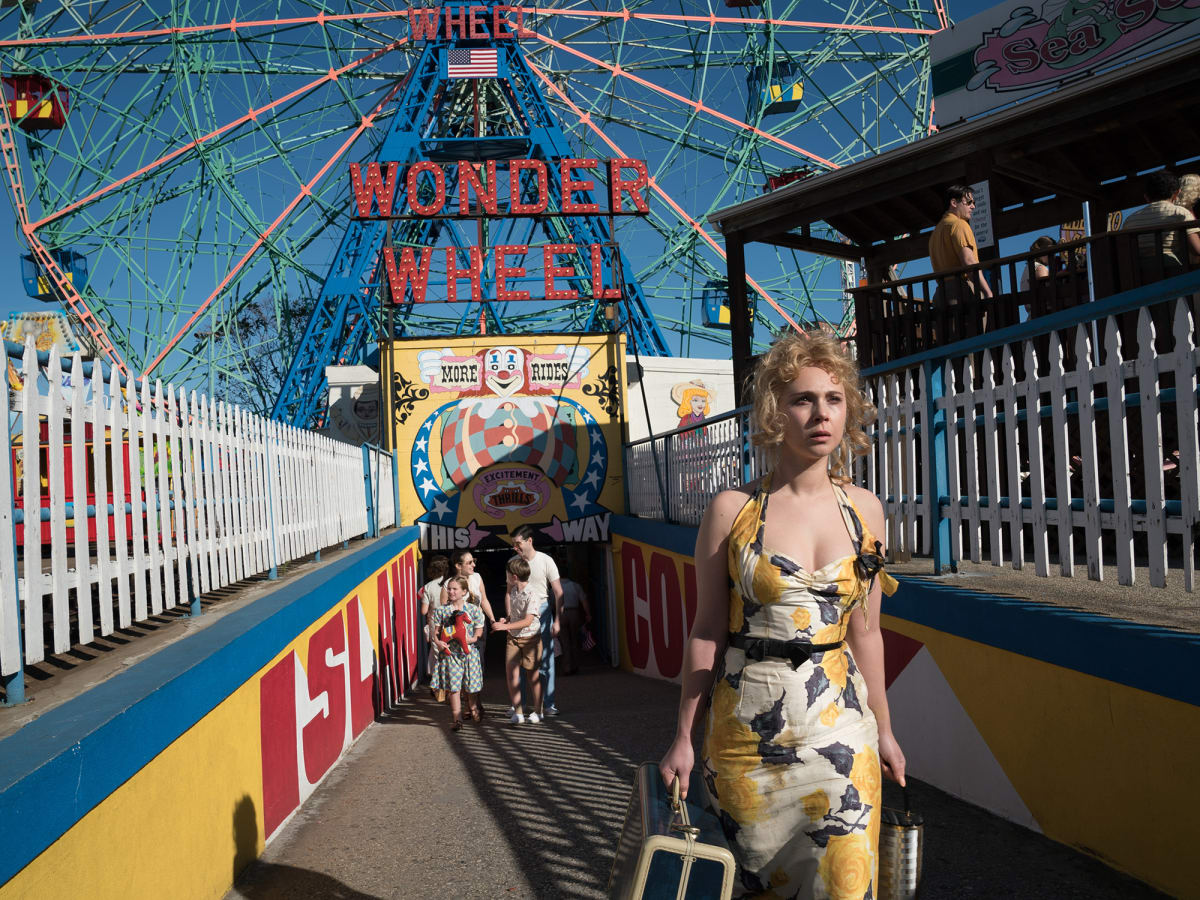 Juno Temple in Wonder Wheel