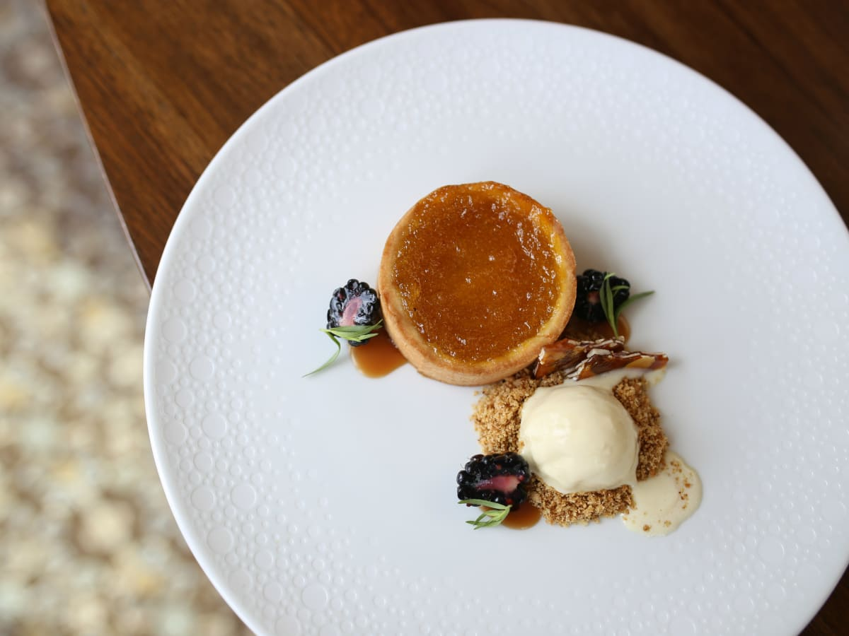 Hotel Granduca Peach Crostata
