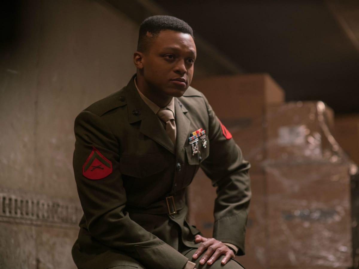 J. Quinton Johnson in Last Flag Flying