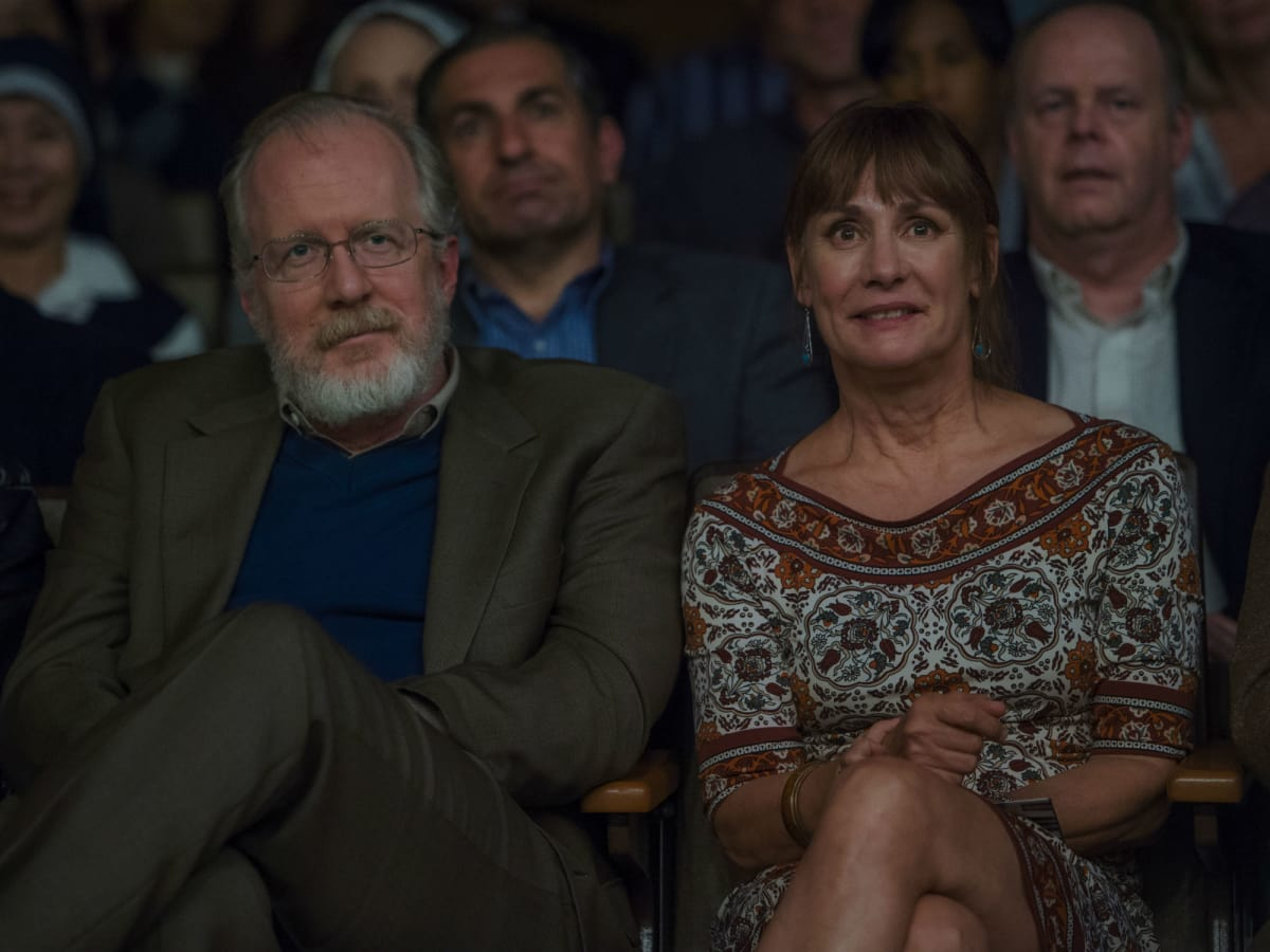 Tracy Letts and Laurie Metcalf in Lady Bird