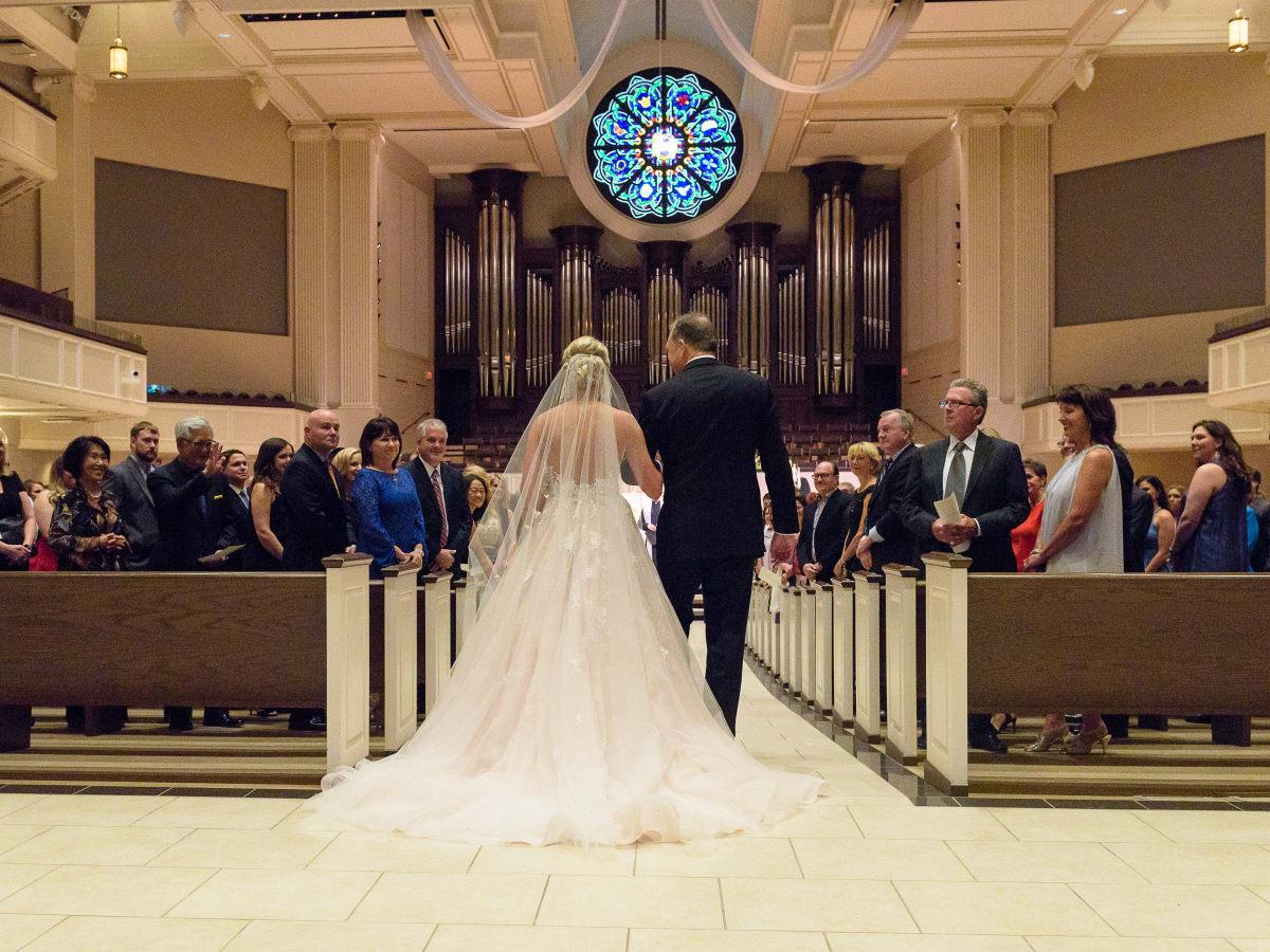Neely Wedding, Church