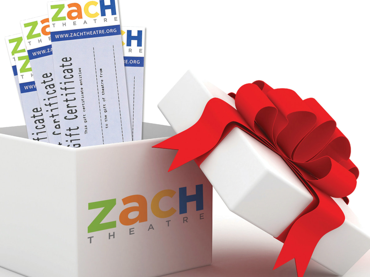 Zach Theatre tickets holiday pack