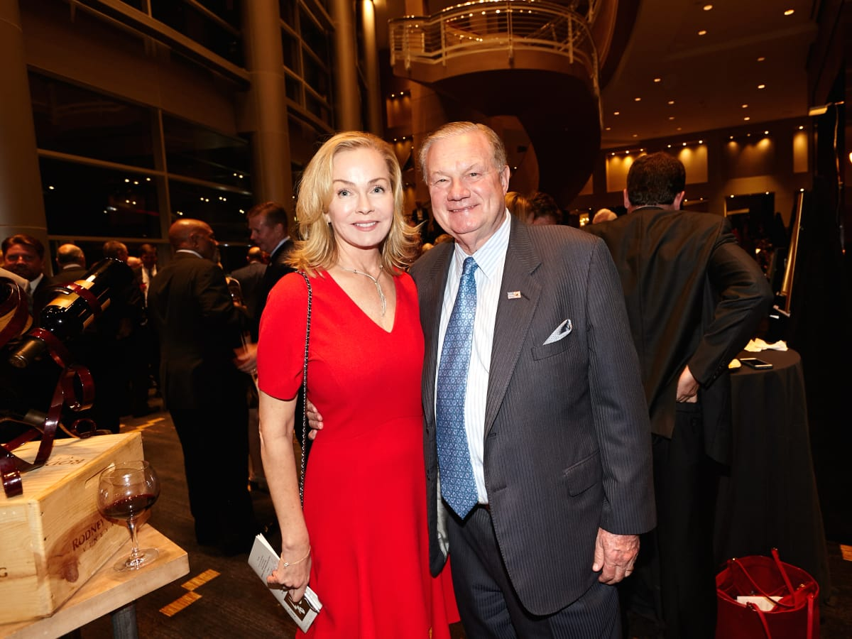 Houston, Bush Library Foundation dinner, November 2017, Alice Mosing, Keith Mosing