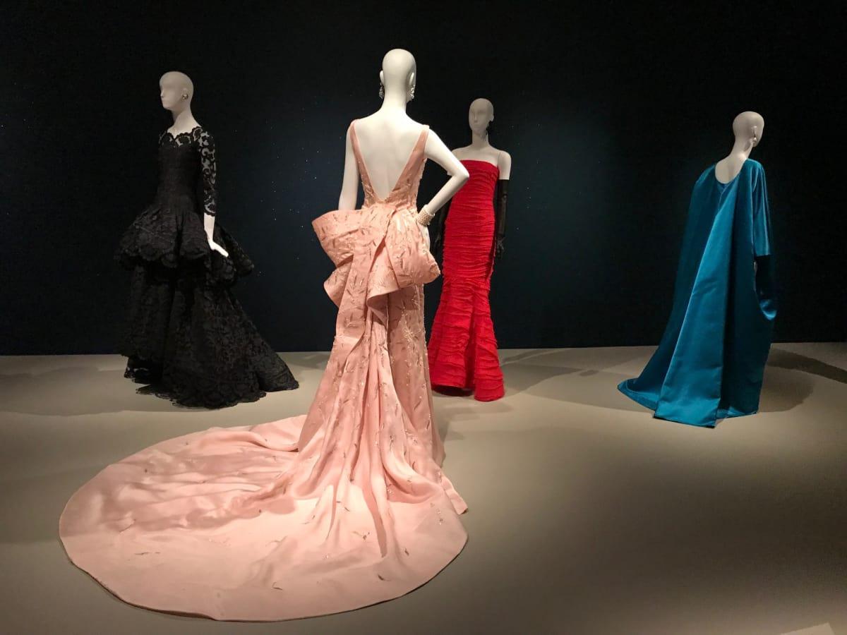Taylor Swift Oscar de la Renta gown at Museum of Fine Arts Houston