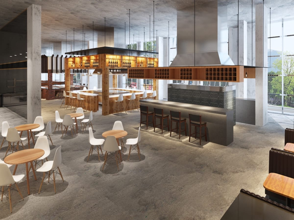 Bravery Chef Hall rendering