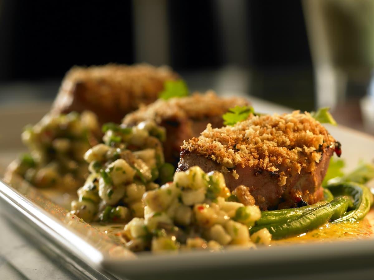 Tuna at Shinsei restaurant in Dallas