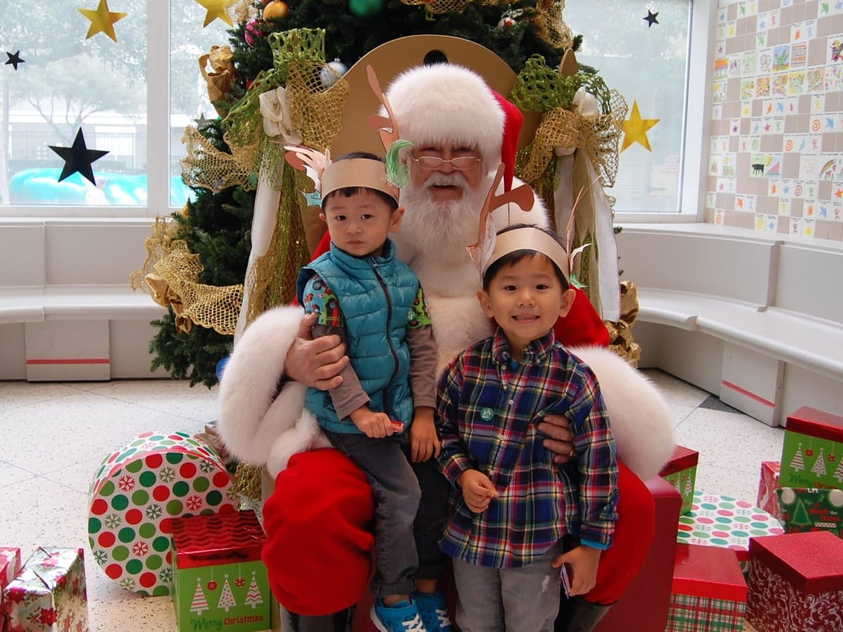 Houston, Childrens Museum, Christmas Santa, December 2017