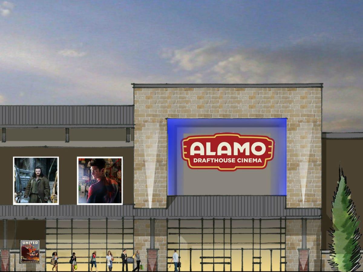 Rendering of Alamo Drafthouse in Little Elm