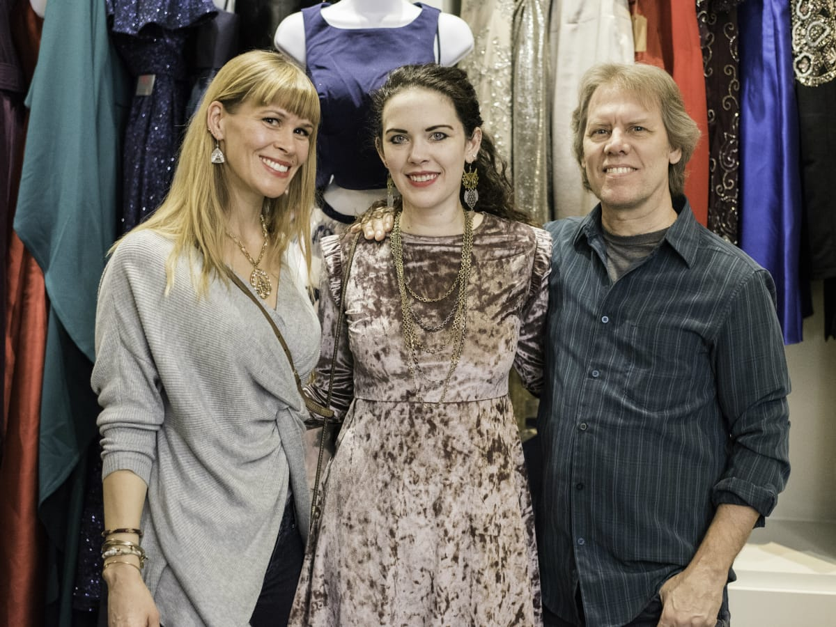 Mary Belcher, Erin O'Brien, Mike Brannon