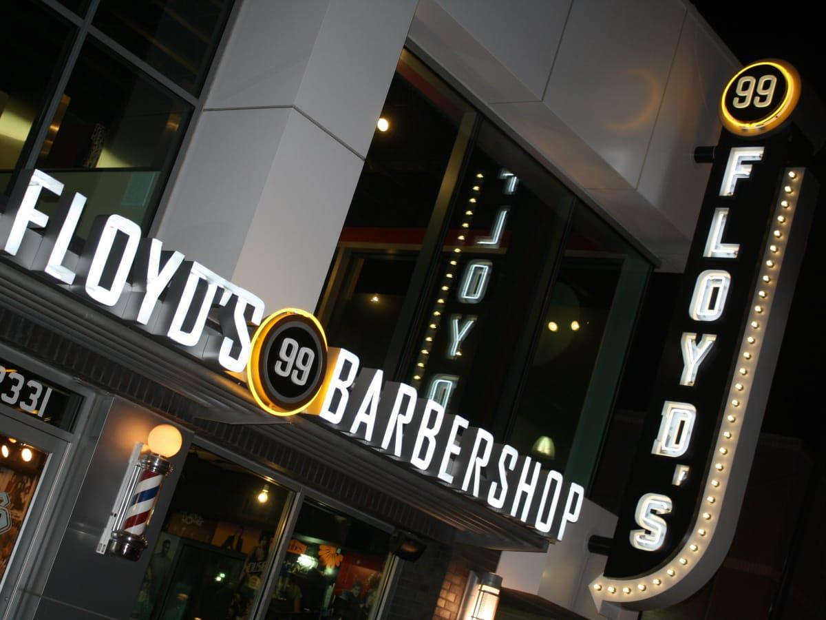 Floyd's Barber Shop exterior