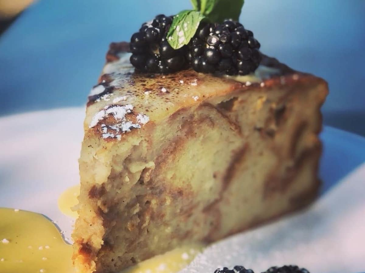 Leeland House creme brulee French toast
