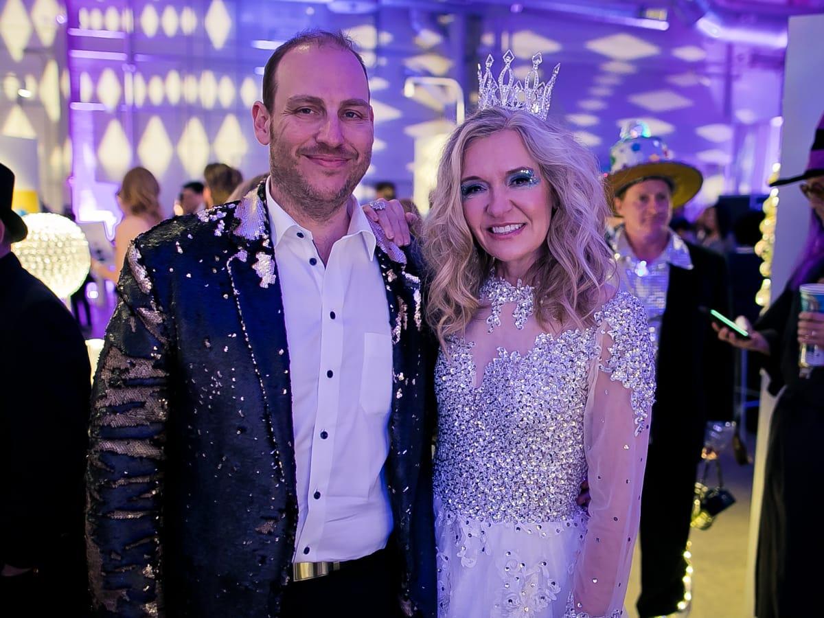 Houston, Fresh Arts Crystal Ball, February 2018, A.J. Brass, Katie Brass