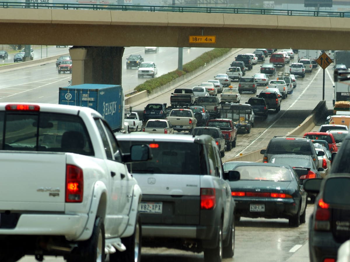 Dallas, Interstate 75, traffic, traffic jam, congestion