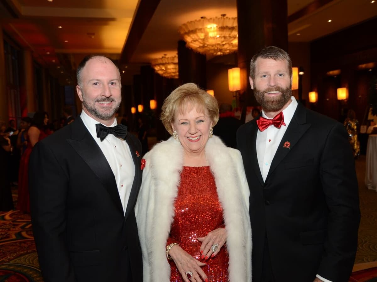 Houston, Heart Ball, February 2018, Tony Bradfield, Marguerite Swartz, Kevin Black