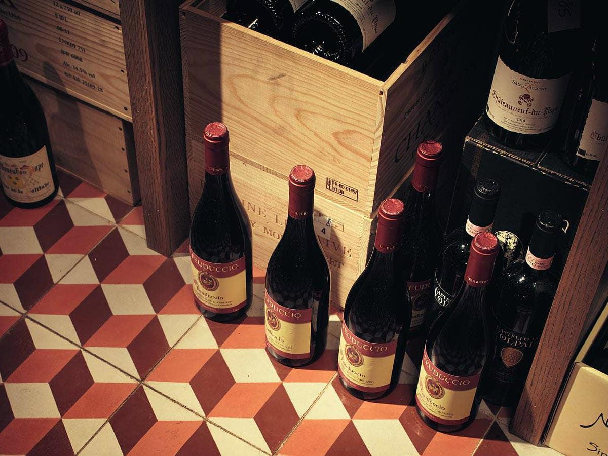 jeffrey's austin wine bottles