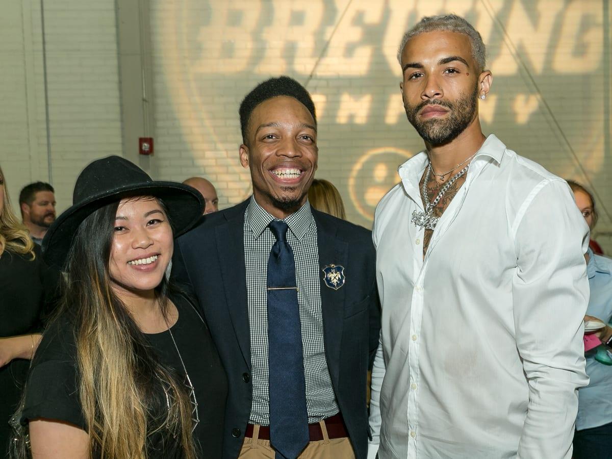 Tastemaker Awards 2018 Julie Julez, Ryan O. Harris, Corey Haywood