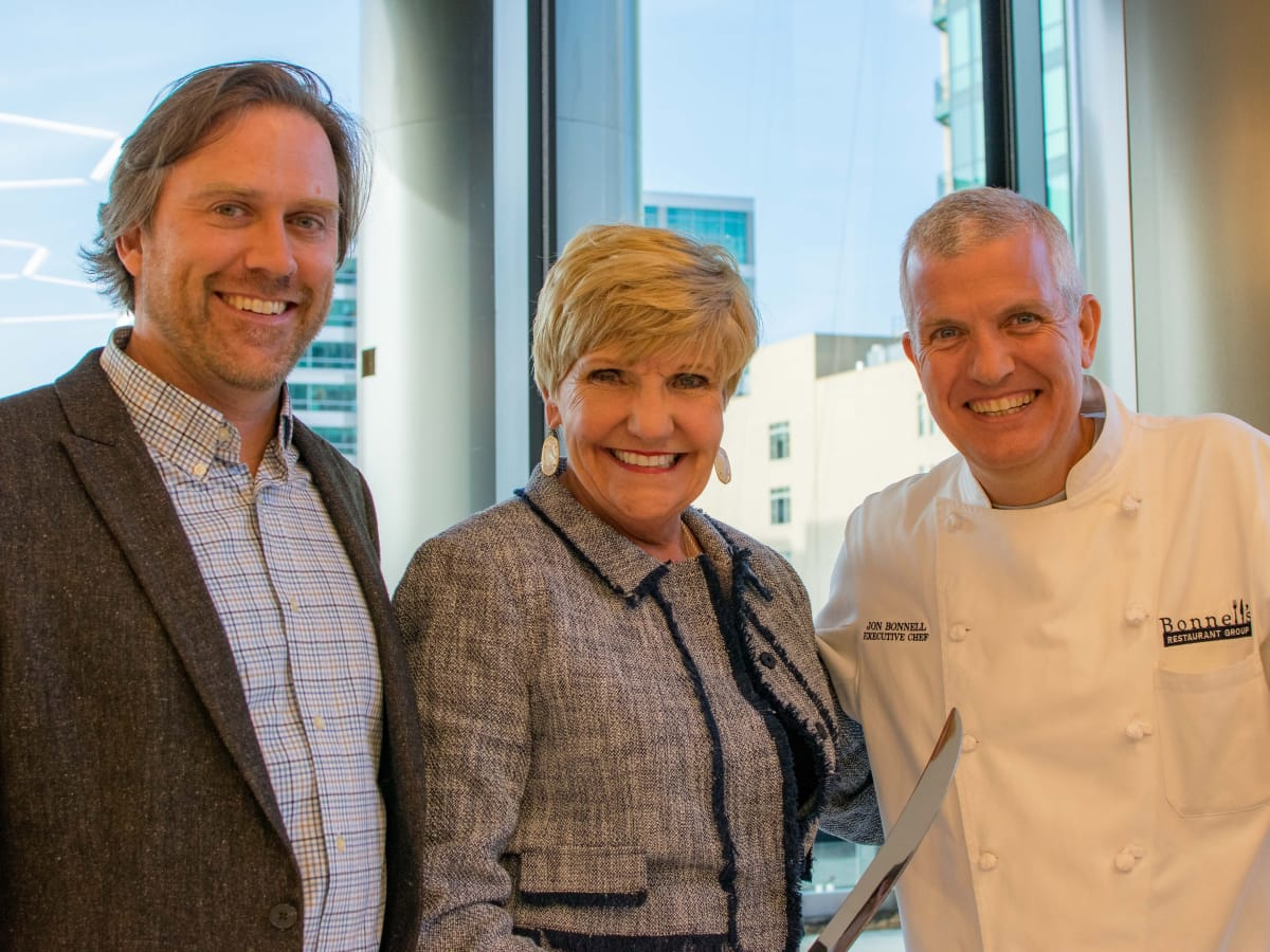 Russell Kirkpatrick, Betsy Price, Jon Bonnell, Fort Worth Food and Wine Festival 2018