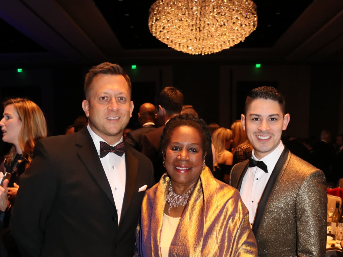 Ray Scott, Rep. Sheila Jackson Lee, Josh Lewis
