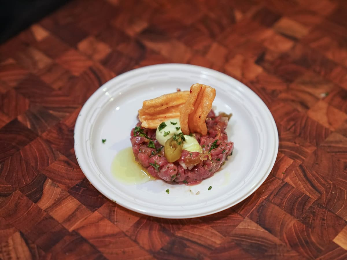 CultureMap Austin 2018 Tastemaker Awards at Fair Market Southerleigh Fine Food & Brewery South Texas Antelope Tartare