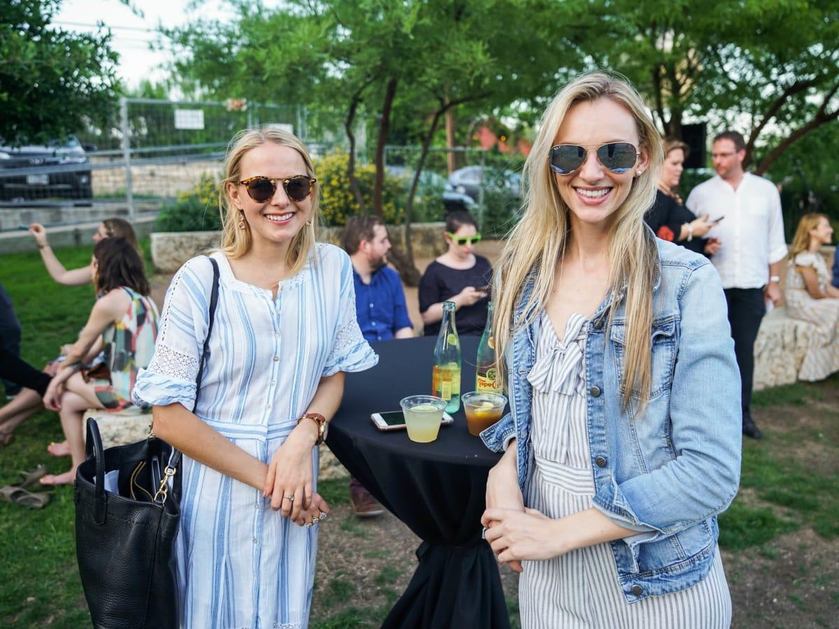 CultureMap Austin 2018 Tastemaker Awards at Fair Market Chelsea Martin Kayla Chance