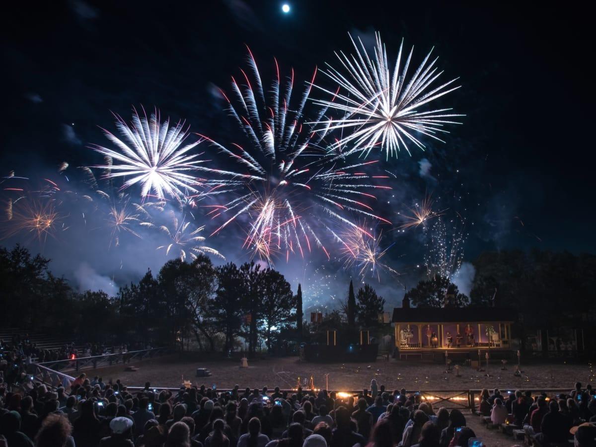 Texas Renaissance Festival fireworks