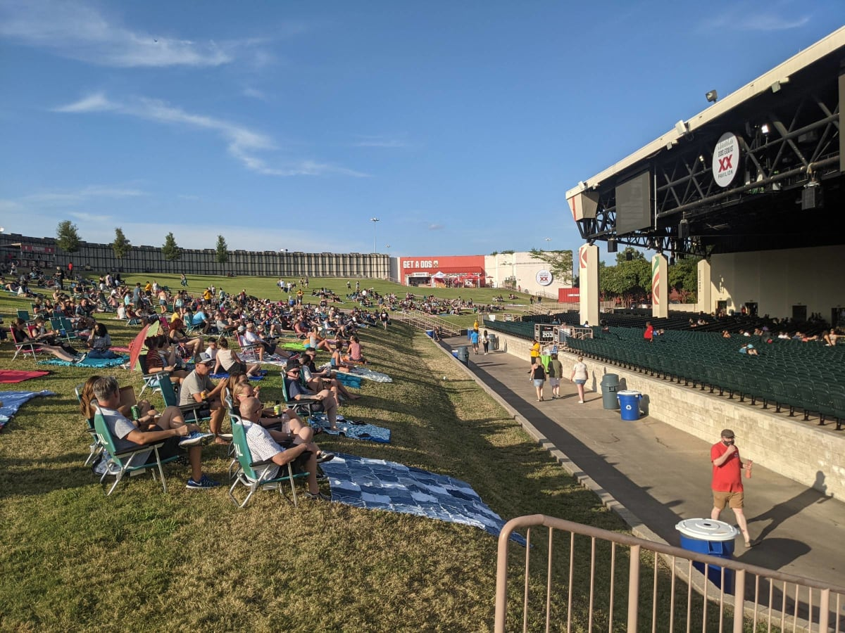 Gexa Energy Pavilion in Dallas