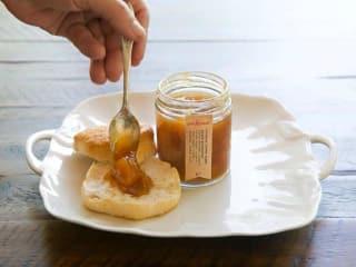 Confituras jam jelly jar biscuit label 2015