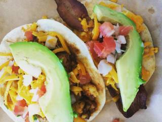 Taco Heads breakfast taco