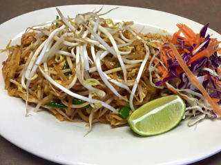 Thai Terrace chicken pad Thai
