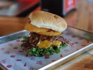 The Burger Joint BBQ burger