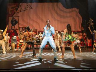 Fela Kuti in concert