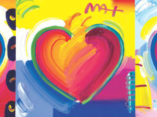 Hearts by Peter Max small 2916