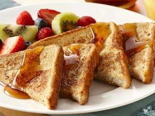 Cinnamon roll French toast at Restaurant Ava in Rockwall