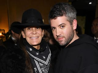 Julie Gilhart and Brandon Maxwell