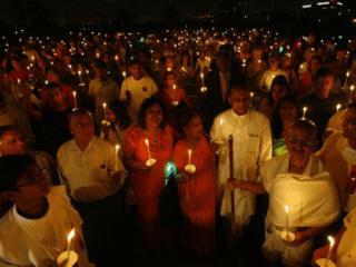 Mahatma Gandhi Library presents 1,000 Lights for Peace