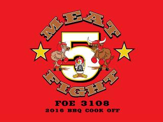 FOE #3108 5th Annual Barbecue Cook-Off