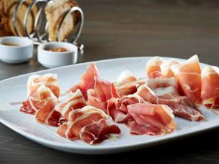 Ham tasting at Knife restaurant in Dallas