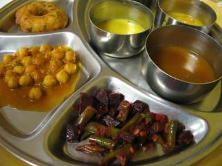 Udipi, Indian buffet