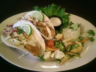Fish tacos at Rafa's Cafe Mexicano in Dallas