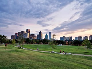 Griggs Park in Uptown Dallas