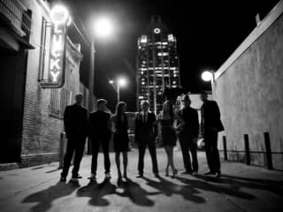 Austin band The Nightowls in Downtown Austin