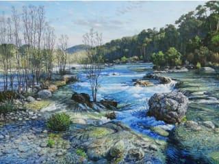 William Reaves   Sarah Foltz Fine Art presents David Caton: The Texas Landscape
