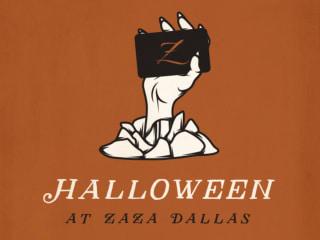 Halloween at ZaZa Dallas