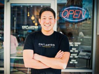 Chi'Lantro chilantro founder Jae Kim