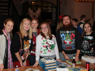 Barbara Bush Houston Literacy Foundation's Young Professionals Group presents 3rd Annual Holiday Book Drive