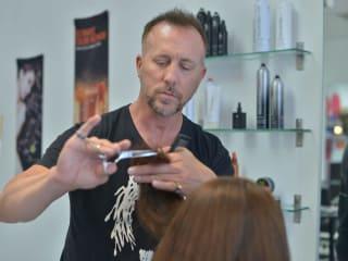 Paul Mitchell master hairstylist Patrick Lomantini