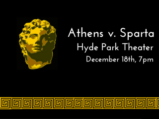 Hyde Park Theater presents Athens v. Sparta: The History of the Peloponnesian War
