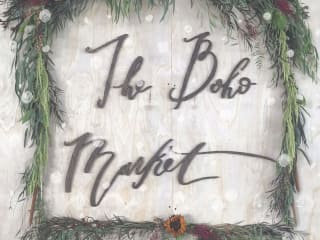 The Boho Holiday Pop-Up