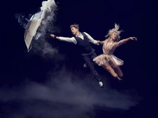 Julianne and Derek Hough