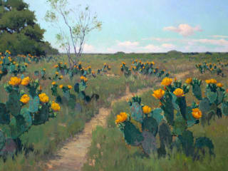 """William Reaves   Sarah Foltz Fine Art presents Allures of the """"Wild Horse Desert: Noe Perez and the Colors of South Texas"""" opening reception"""